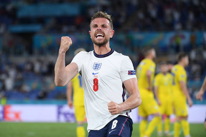 Джордан Хендерсон забил дебютный гол за сборную Англии