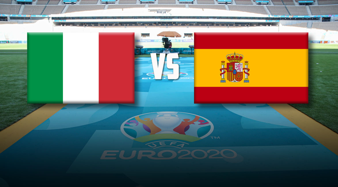 Италия - Испания 0:0 онлайн-трансляция 1/2 финала Евро-2020