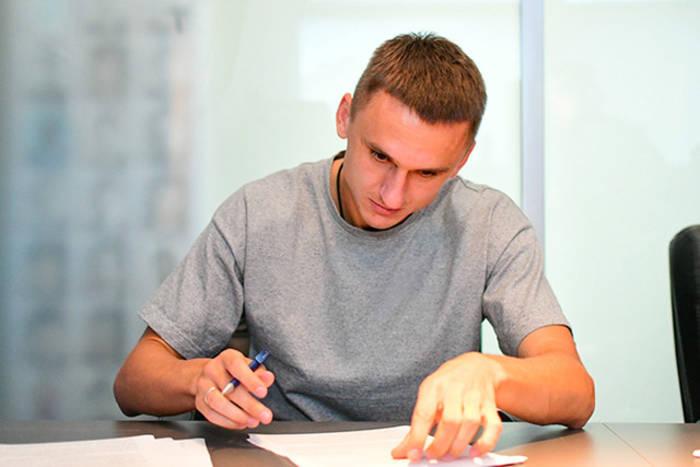 Денис Антюх подписал контракт с Динамо