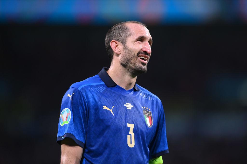 Кьеллини: Манчини заставил нас поверить, что мы можем выиграть чемпионат Европы