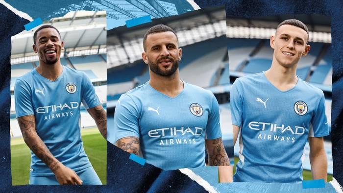 Новая форма Манчестер Сити