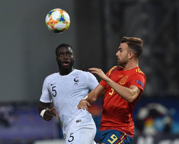 Сборные Франции и Испании на Евро U-21 в 2019 году