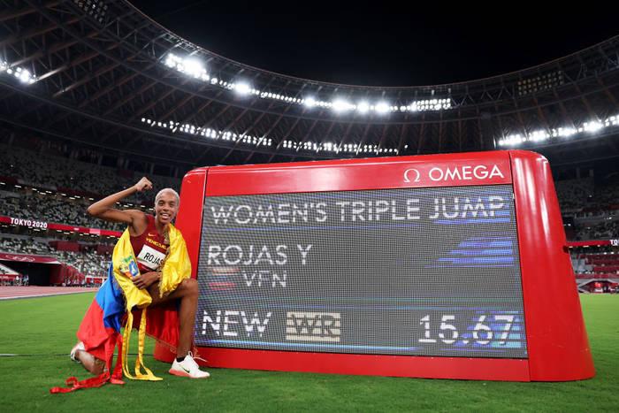 Юлимар Рохас установила новый мировой рекорд