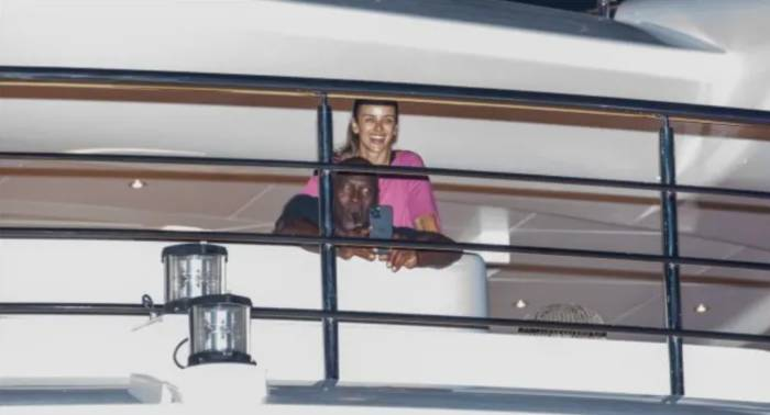 Майкл Джордан на яхте / Фото Profimedia