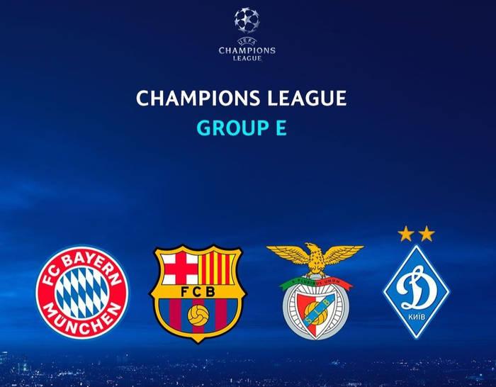 Группа Динамо в Лиге чемпионов