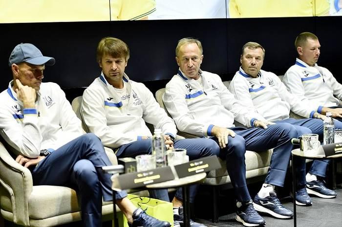 Тренерский штаб сборной Украины