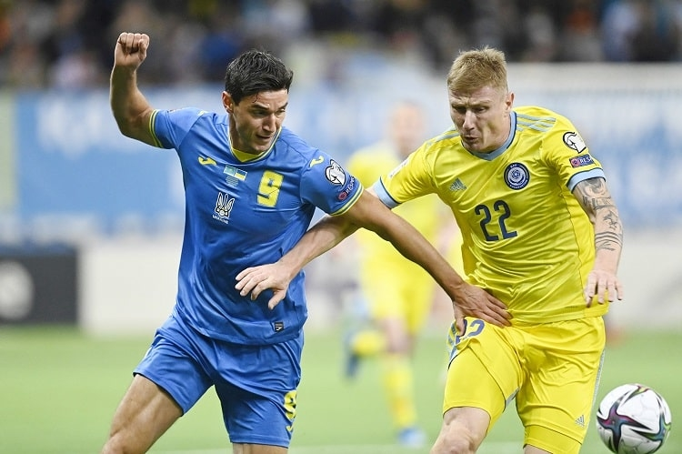 Казахстан - Украина 2:2 Видео голов и обзор матча