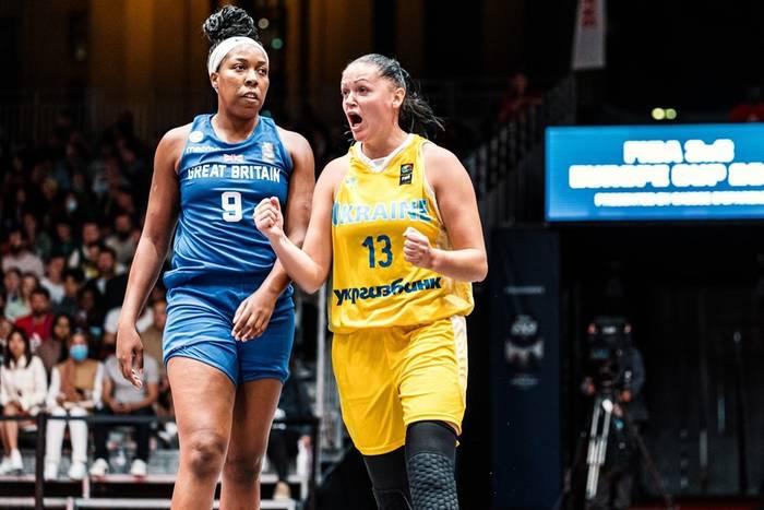 Кубок Европы по баскетболу 3х3: мужская и женская сборные Украины вышли в четвертьфинал