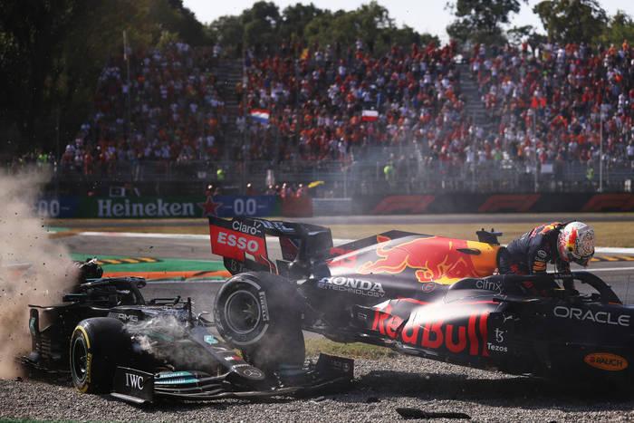 Столкновение на Гран-при Италии