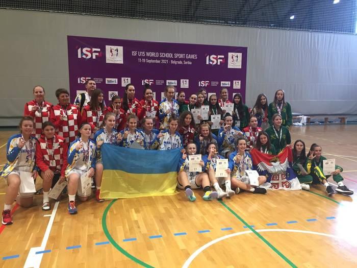 Украинские баскетболистки обыграли в финале Хорватию