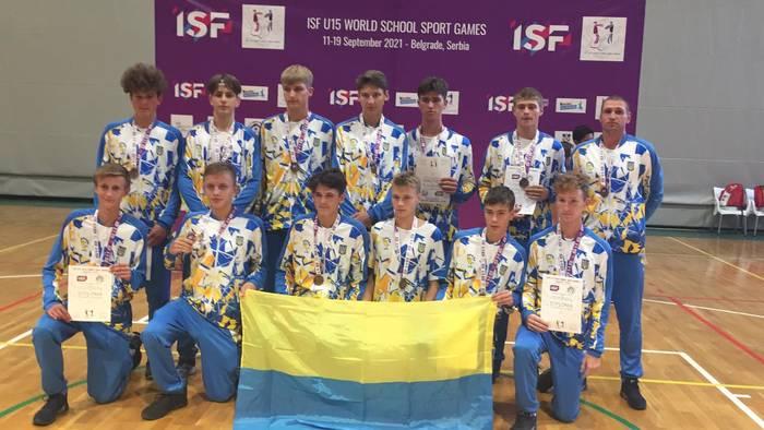 Украинские баскетболисты завоевали бронзовые награды