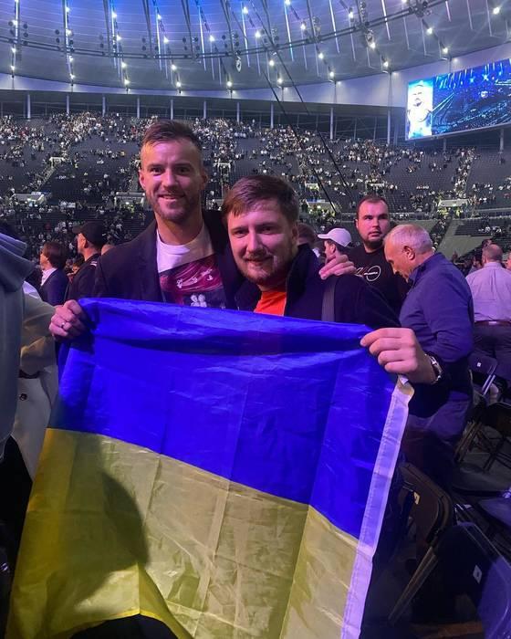 Андрей Ярмоленко и Вадим Шаблий
