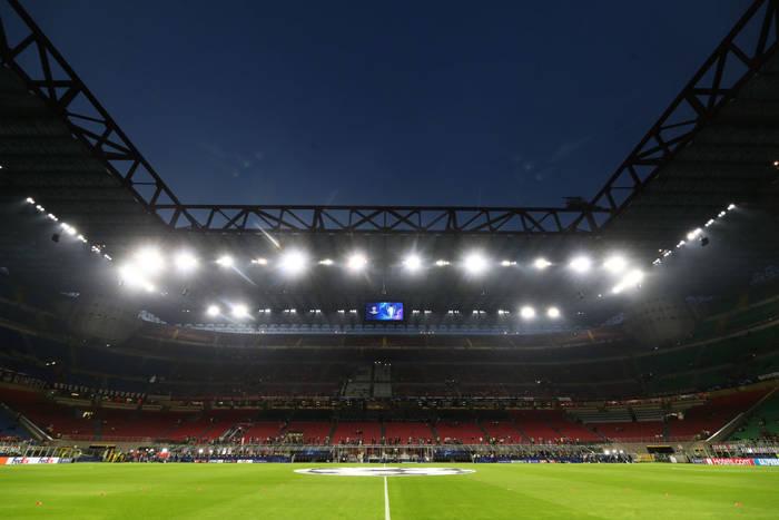 Стадион Сан Сиро, на котором состоится финальный матч