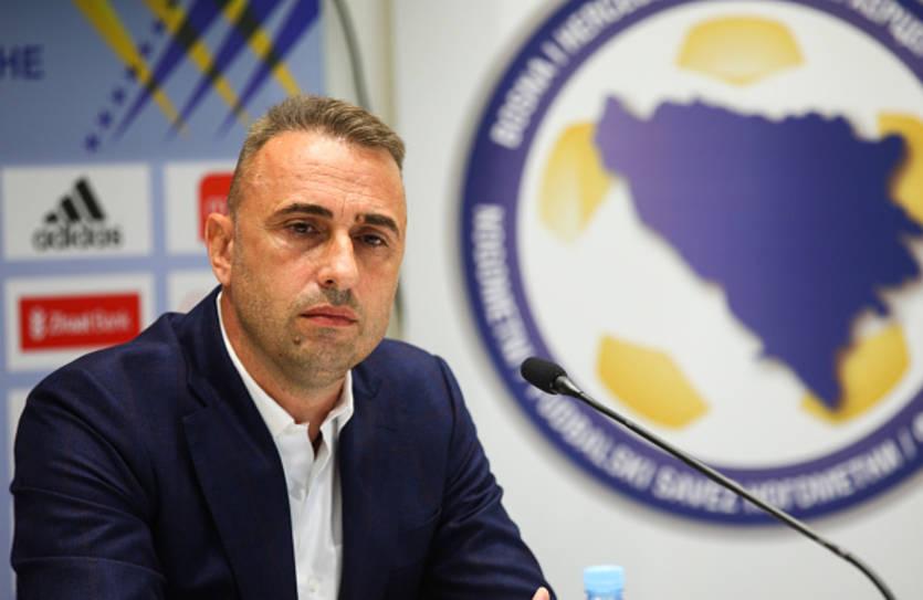 Тренер Боснии: Сделаем все, чтобы победить Украину