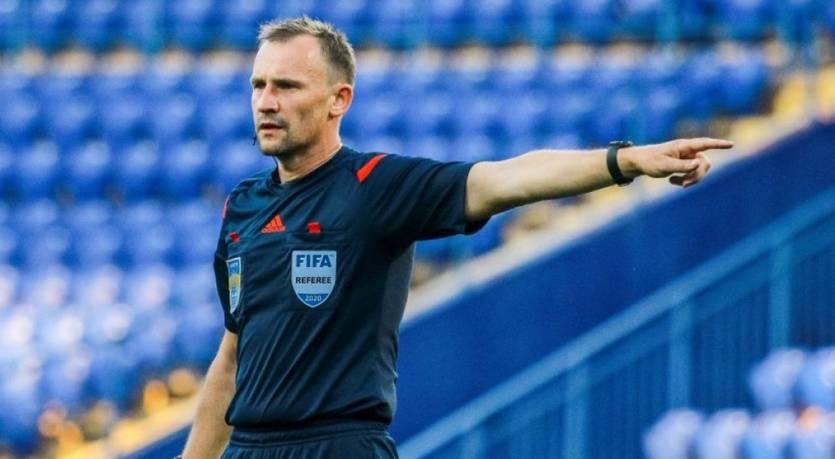 Украинские арбитры получили назначение на отборочный матч Евро-2023