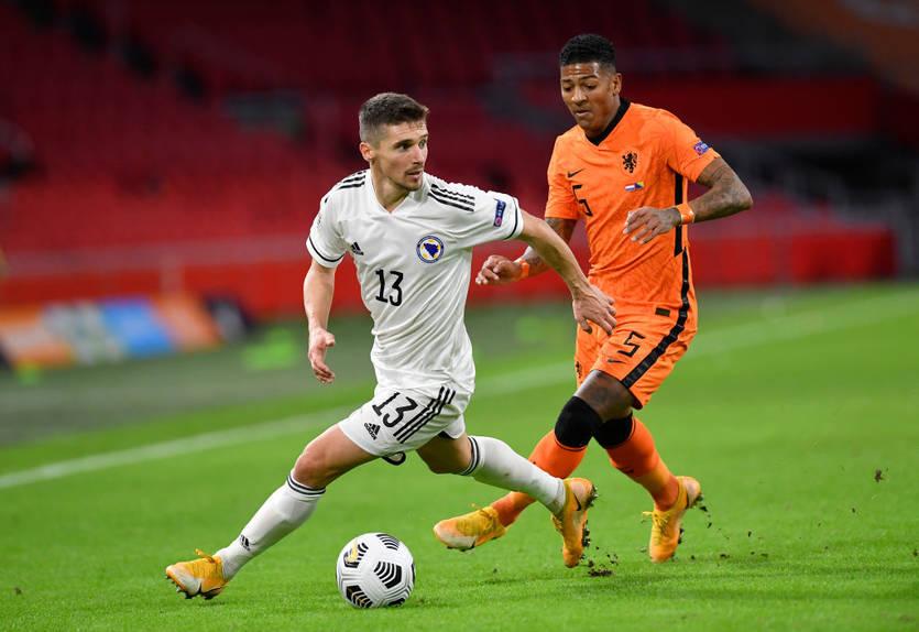 Игрок сборной Боснии и Герцеговины травмировался перед матчем с Украиной