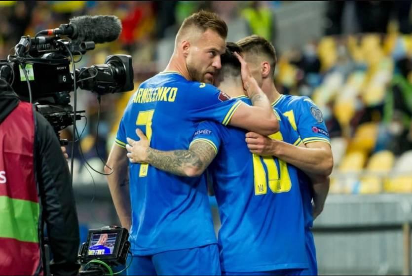 Сборная Украины упустила победу над Боснией и Герцеговиной
