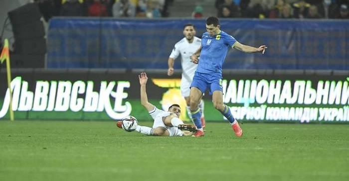 Сборная Украина сыграла вничью с Боснией и Герцеговиной